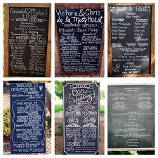 Wedding Program Chalkboard 21 Best Images About Invites Programs On Pinterest Wedding