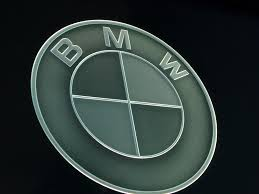 bmw car signs car bmw 3d carved glass signs sans soucie glass