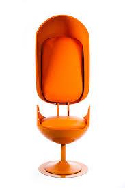 Orange Armchair Merel Bekking Reveals
