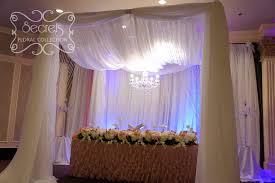 wedding backdrop canopy draping and backdrop toronto wedding decor secrets floral