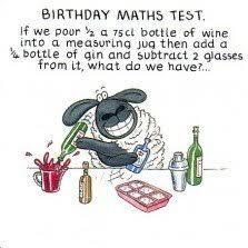 humorous birthday cards humorous birthday card plk0061 the farm birthday maths