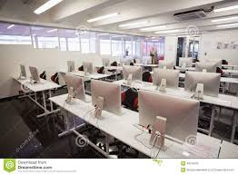 empty computer room stock photo image 49210705
