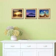 Photo Wall Stickers Personalized 3d Frame Scenery Painting Style Removable Wall