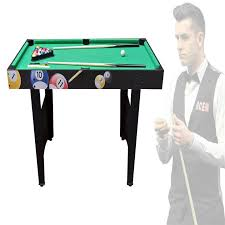 4ft pool table folding games tables snooker foosball air hockey table tennis sports