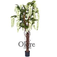 4ft wisteria tree indoor artificial tree by olore home