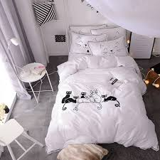Cheap Black Duvet Covers Online Get Cheap Black Embroidered Duvet Cover Aliexpress Com