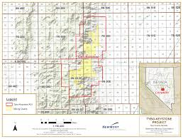 Keystone Map Newmont Mining Operations And Projects North America Farm