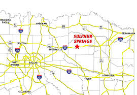 Dallas Texas On Map by Business Climate Sulphur Springs Hopkins County Economic