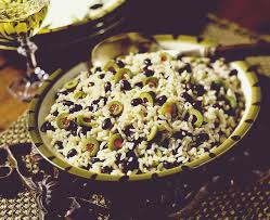Indian Food Olives From Spain Foods Rice With Black Beans And Olives