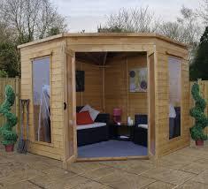 Gardens With Summer Houses - buy cheap summerhouses u0026 log cabin kits online gazebo direct