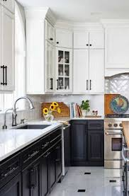 black and white kitchen cabinets designs 25 black white kitchen cabinet ideas sebring design build