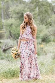 floral bridesmaid dresses gorgeous floral print bridesmaid dresses for wedding lunss couture