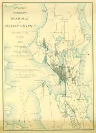 Seattle Wa Map by Seattle Historical Maps Kroll Map Company