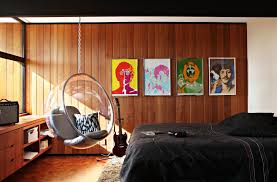 bedroom contemporary hanging rattan swing chair chair swing