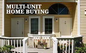 buy a duplex triplex or fourplex for earn rental income