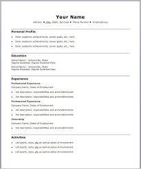 standard resume format download cvletter csat co