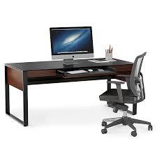 modern desks corridor chocolate desk by bdi eurway
