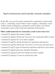 Social Work Resume Example by Cover Letter Example 4 Sample Cover Letter For Social Work