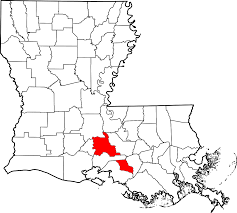 St Martin Map National Register Of Historic Places Listings In St Martin Parish