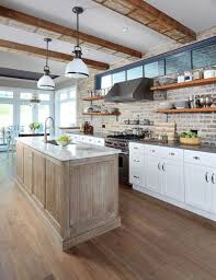 kitchen brick backsplash kitchen country kitchen brick backsplash 20 minimalist kitchens