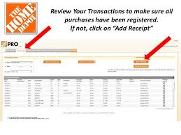 Home Depot Pro Desk Home Depot Benefits Package