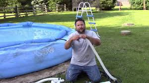 how to supercharge your intex pool solve weak pump low water flow