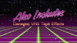 80s title intros after effects template youtube