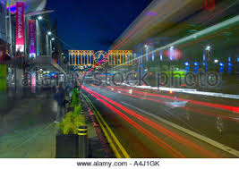 festive christmas lights in aberdeen city centre u0027s union street