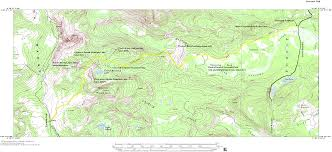 Colorado On The Map by Newcomb Creek Trail Mount Zirkel Wilderness Area Colorado