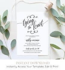 rustic bridal shower rustic bridal shower invitation printable tying the knot wedding