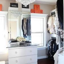 closet dresser with mirror design ideas