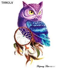 popular tattoo owl buy cheap tattoo owl lots from china tattoo owl
