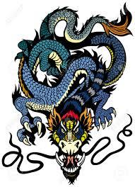 dragon tattoo stock photos u0026 pictures royalty free dragon tattoo