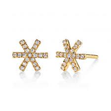 diamond earring studs diamond earrings studs style mars 26678 s diamonds