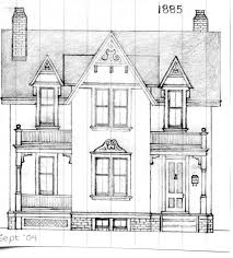 Victorian Style House Plans Victorian House Drawing Easy Image Gallery Hcpr