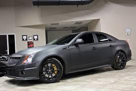 matte black cadillac cts v 2012 cadillac cts v sedan lingenfelter 700 horsepower package