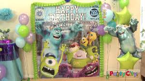 party city halloween decorations 2013 monsters university party ideas youtube