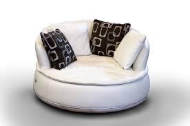 rund sofa halbrundes sofa rund modern leder espace nieri