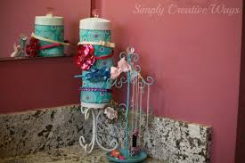 how to make a headband holder how to make a headband holder and storage container simply
