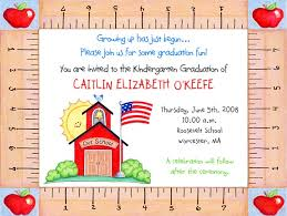kindergarten graduation invitations kindergarten preschool graduation invitations graduation