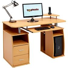 Computer Desk With Shelves by Computer Desk With Lots Of Drawers Best Home Furniture Decoration