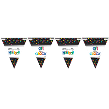 International Bunting Flags Happy Retirement Party Bunting Banner Retirement Party Supplies