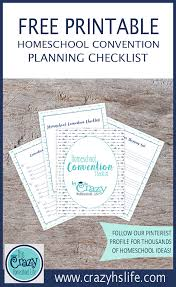 Shopping Worksheets Your Free Homeschool Convention Checklist Set