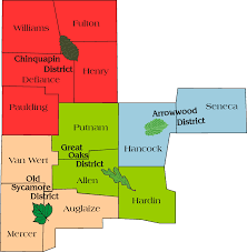 Defiance Ohio Map by About Us