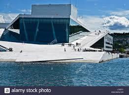 concrete opera norway capital futuristic style of construction