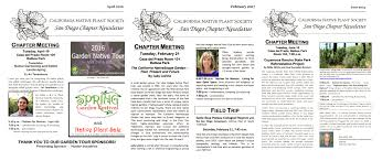 california native plants for sale newsletters u2014 cnps san diego