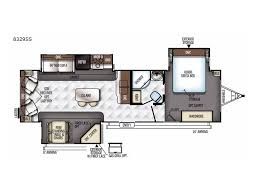 Rockwood Trailer Floor Plans by 2018 Forest River Rv Rockwood Signature Ultra Lite 8329ss