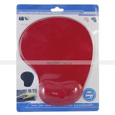 Comfortable Mouse Pad Ergonomic Mouse Pad With Gel Wrist Rest