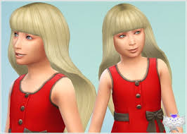 custom hair for sims 4 david sims barbie hair for child sims 4 downloads