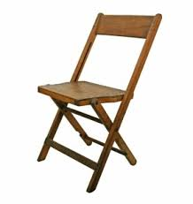 Stakmore Folding Chairs Vintage Oak Folding Chairs Foter